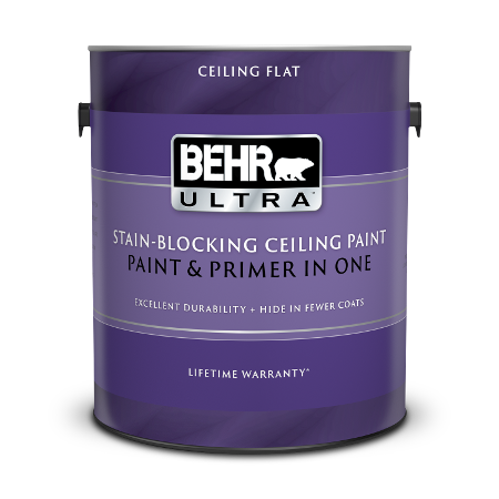 1 gallon can of BEHR ULTRA ceiling paint