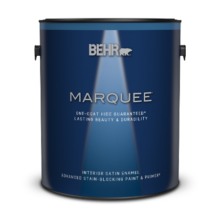 1 gallon can of Marquee Interior Satin Enamel Paint