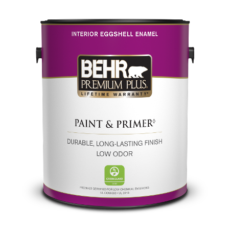 1 gal can of Premium Plus Interior Eggshell Paint