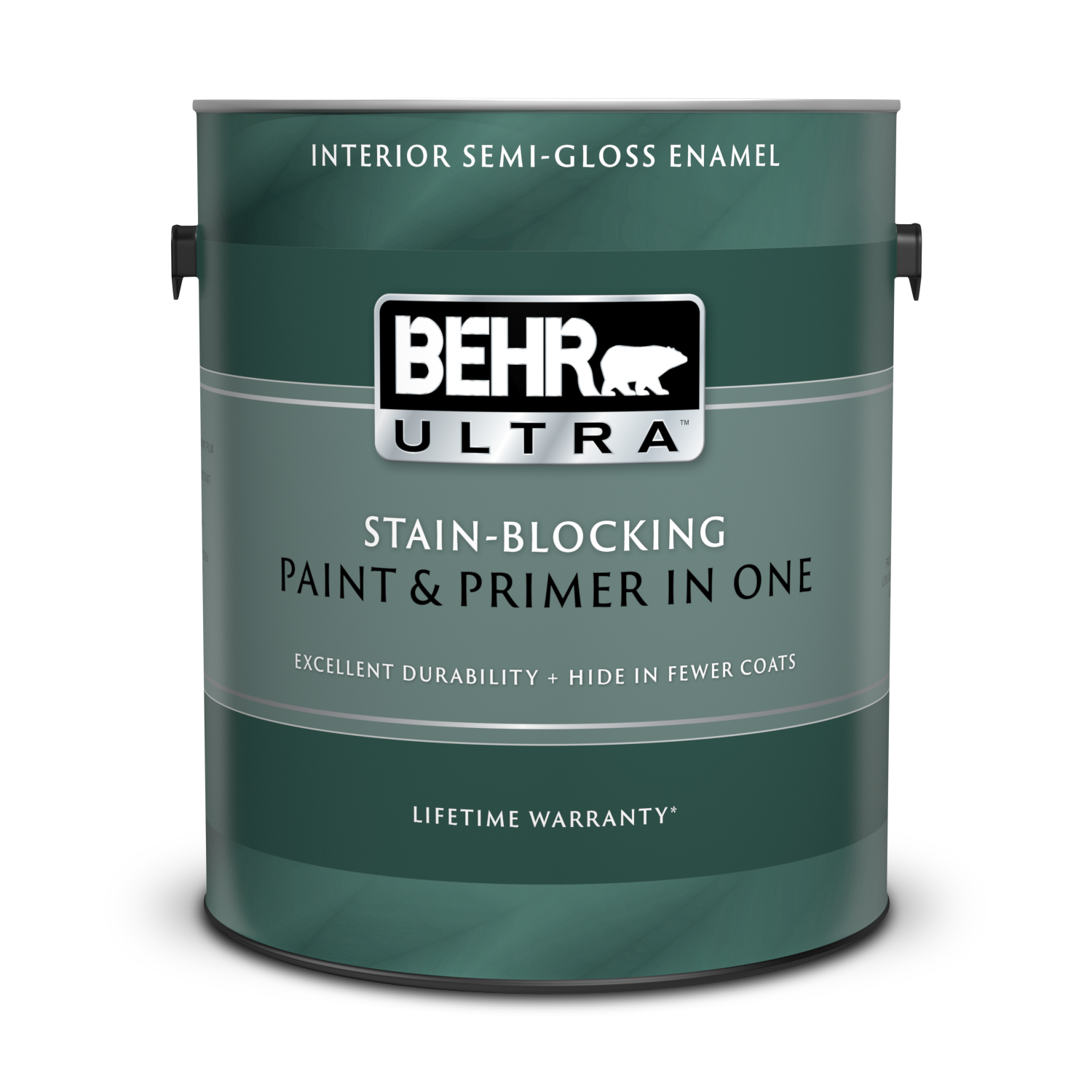 Interior Semi Gloss Enamel Paint Primer Behr Ultra Behr