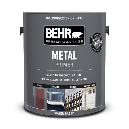 Can of metal primer