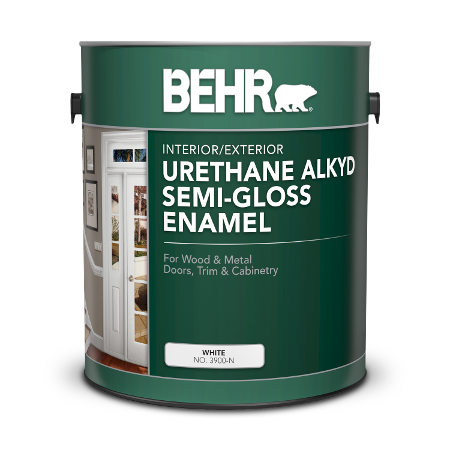 Specialty Alkyd Semi Gloss Enamel Paints For Your Project Behr
