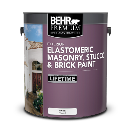 Specialty Elastomeric Masonry, Stucco, and Brick Paint | BEHR
