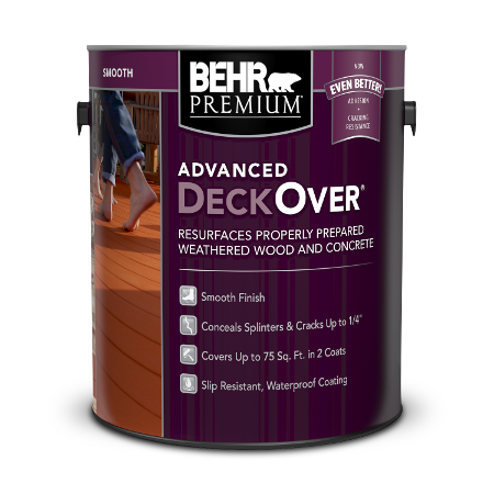 Lata de pintura advanced deckover