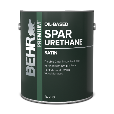 Behr interior Oil-based Wood Spar Urethane can image.