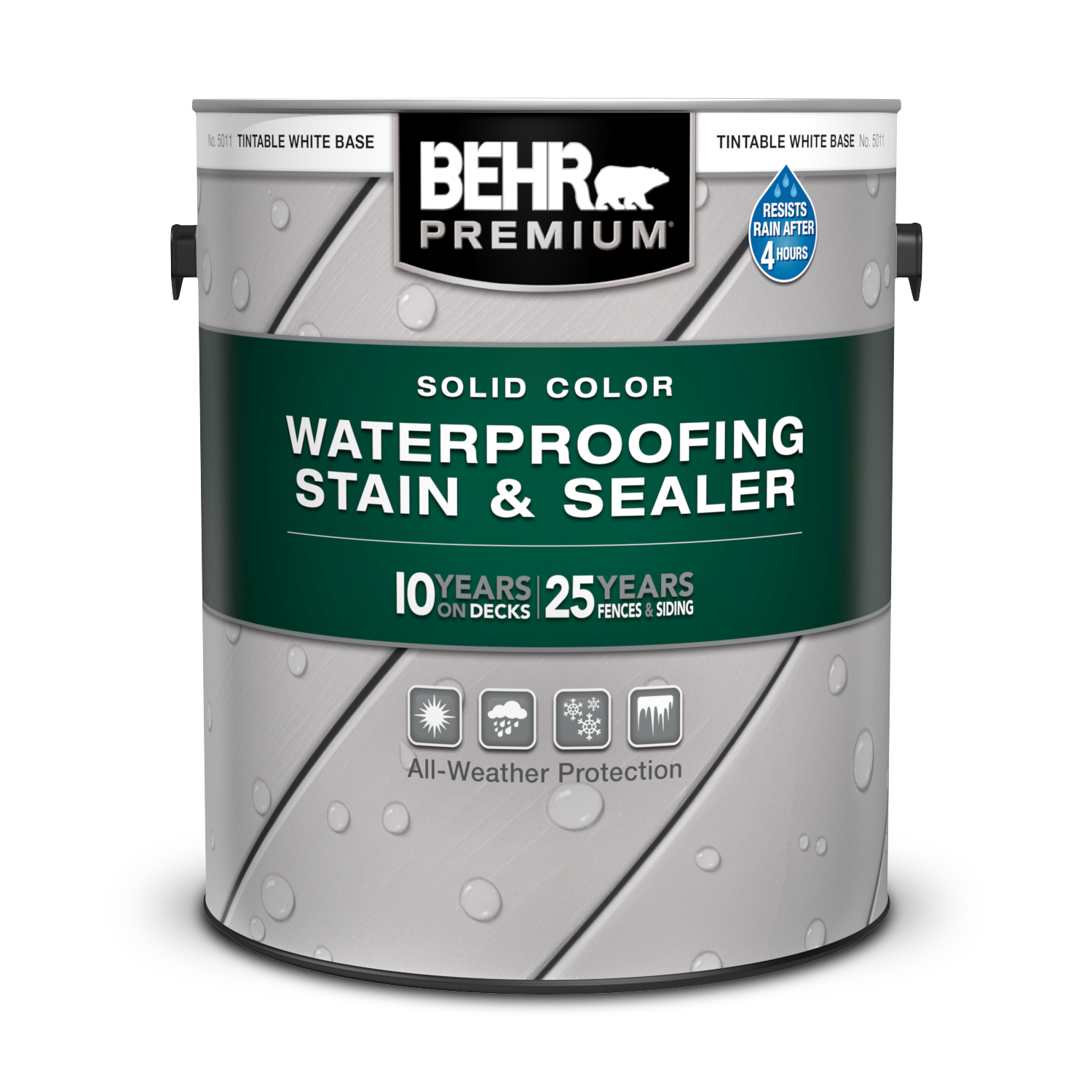 Solid Color Waterproofing Wood Stain & Sealer | BEHR PREMIUM