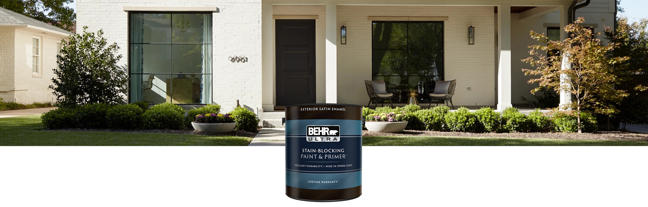 Exterior Paint And Primer Behr Ultra Exterior Paint Behr