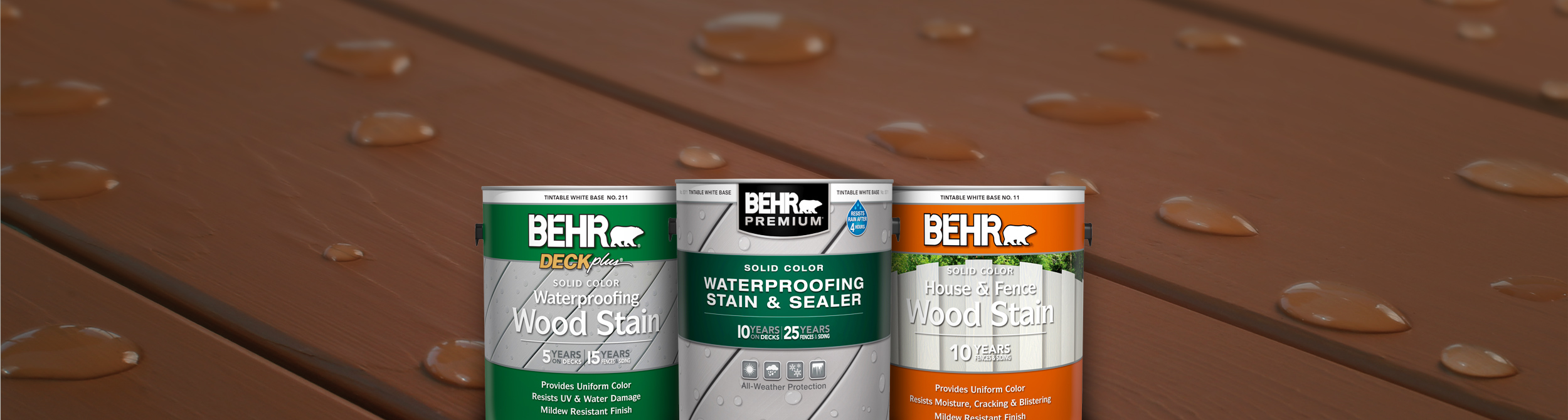 Solid Wood Stain Products | Behr