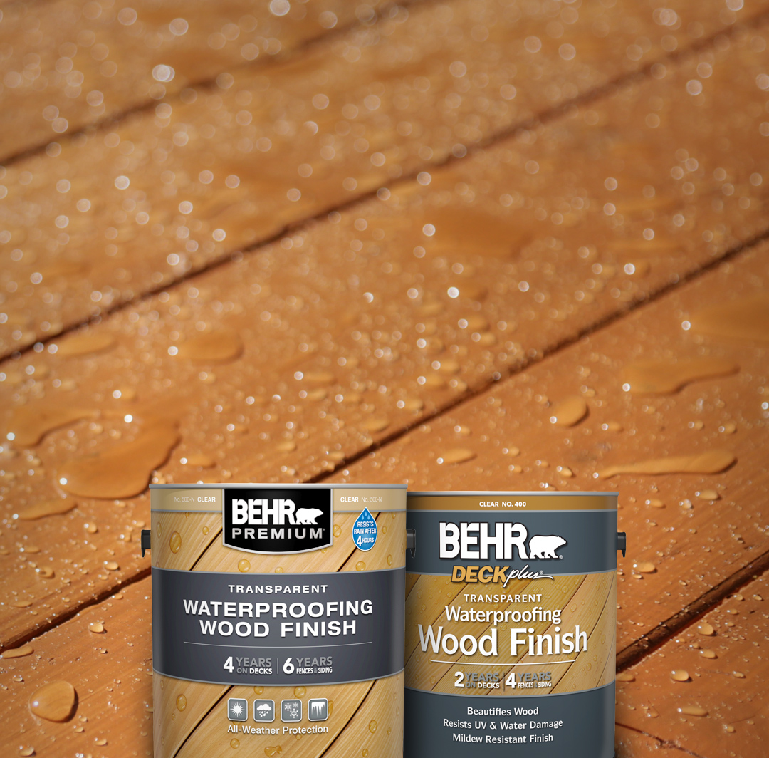 Transparent Finish Products | Behr