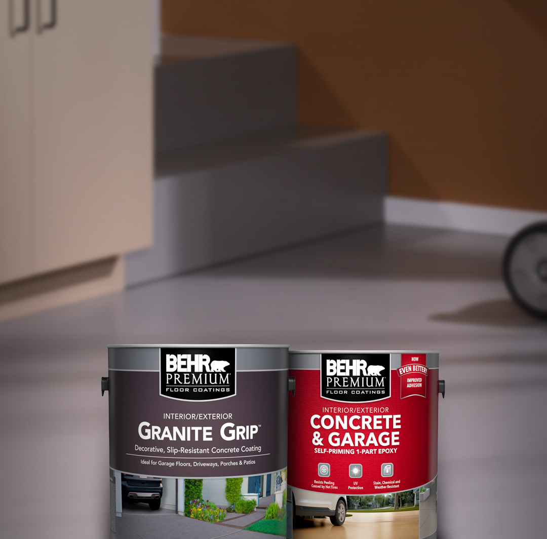 Driveway And Garage Floor Coating Products Behr