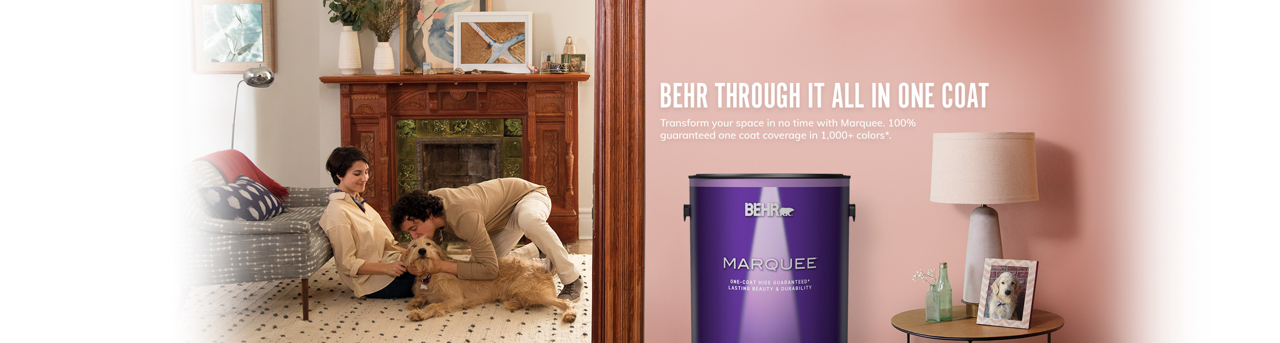 Marquee One Coat Interior Paint Collection Behr