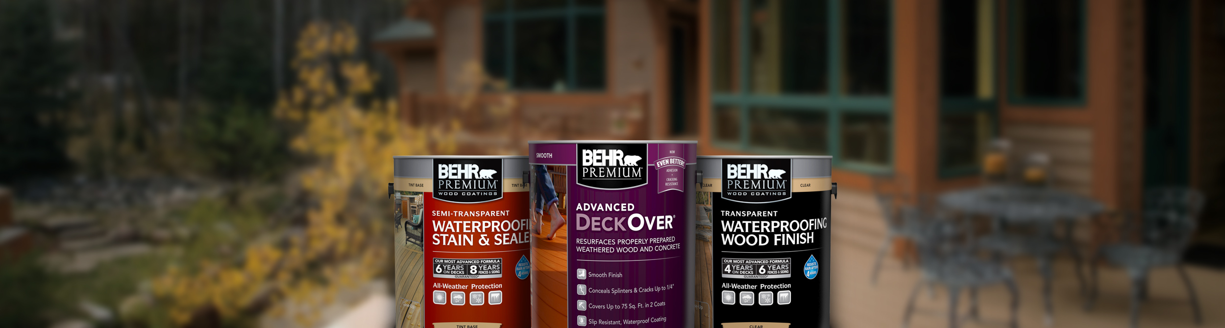 Exterior wood stains finishes strippers and cleaners behr - Behr exterior wood stain reviews ...