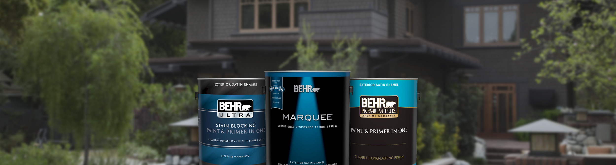 Exterior Paint and Primer Products for Your Home | Behr
