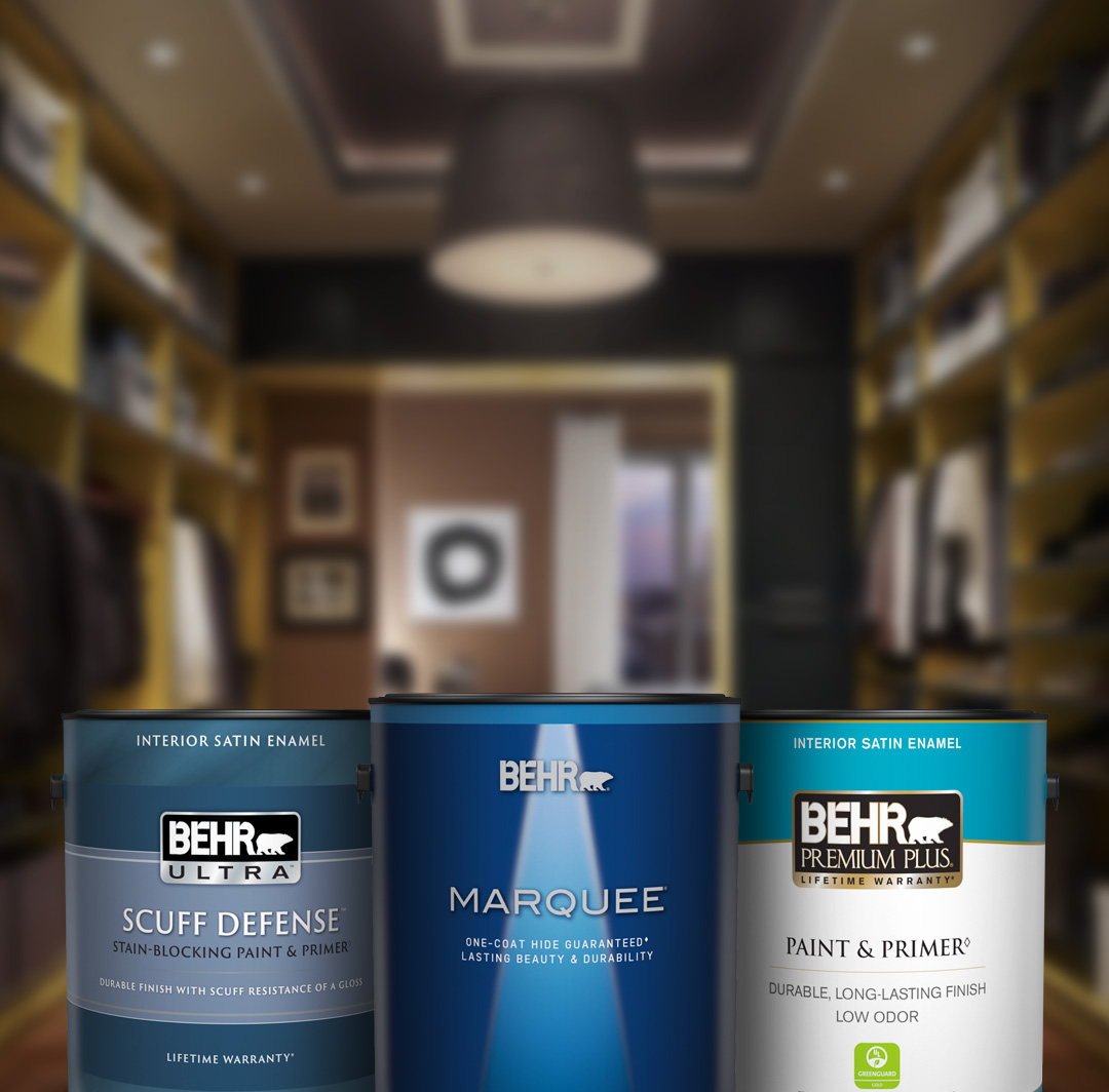 Interior Paint And Primer Products For Your Home Behr