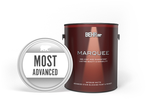 Can of Marquee Interior Paint with Most Advanced seal