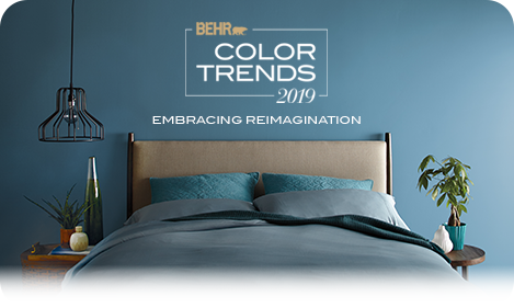 Color Trends 2019 Embracing Reimagination
