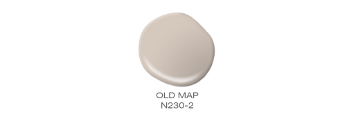 A paint drop showcase of color called Old Map.