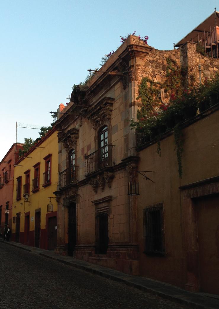 View of Aldama Street in San Miguel de Allende.