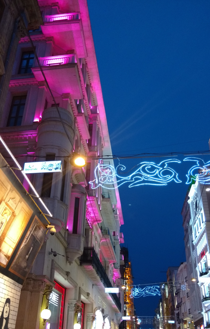 Istiklal Avenue at night