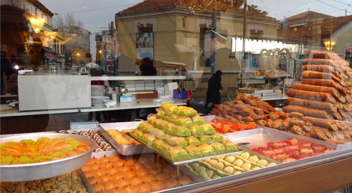 Street market in Turkey