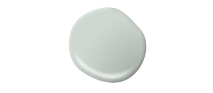 Paint drop representing the color Breezeway.