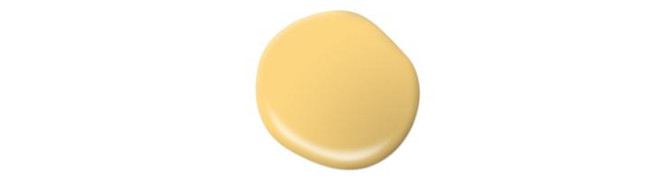 Paint drop in the color Lemon Burst.