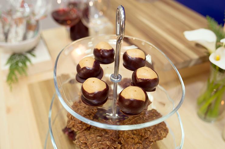 Chocolate Dipped Buckeyes