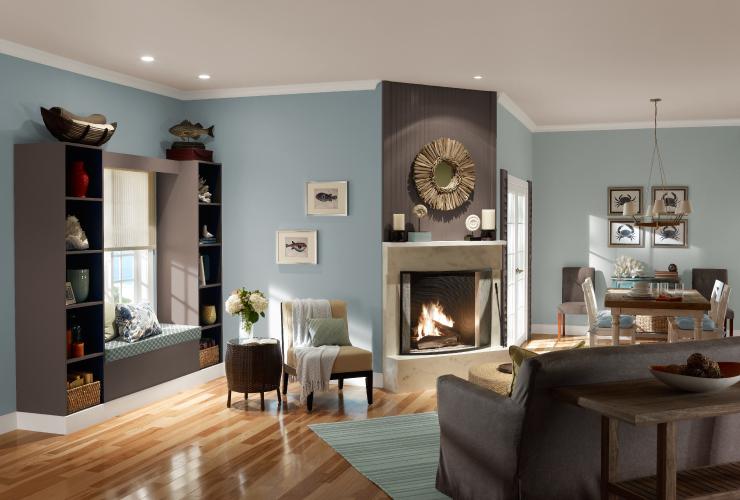 Palette For An Open Floor Plan