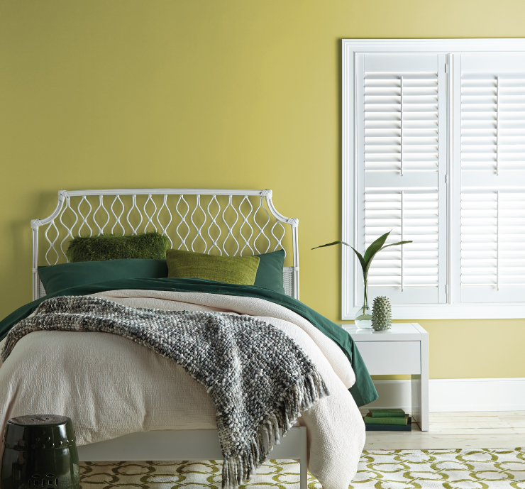 Behr Green Bedroom