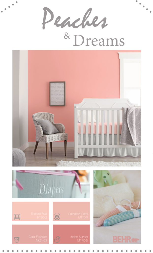 FAQ: Peaches and Dreams color Palette | Colorfully BEHR