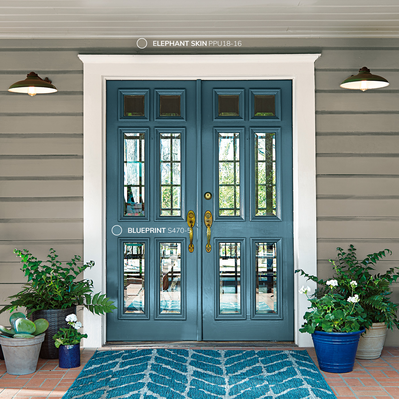 Down to earth curated color palette 2019 color trends - Trending exterior house colors 2017 ...
