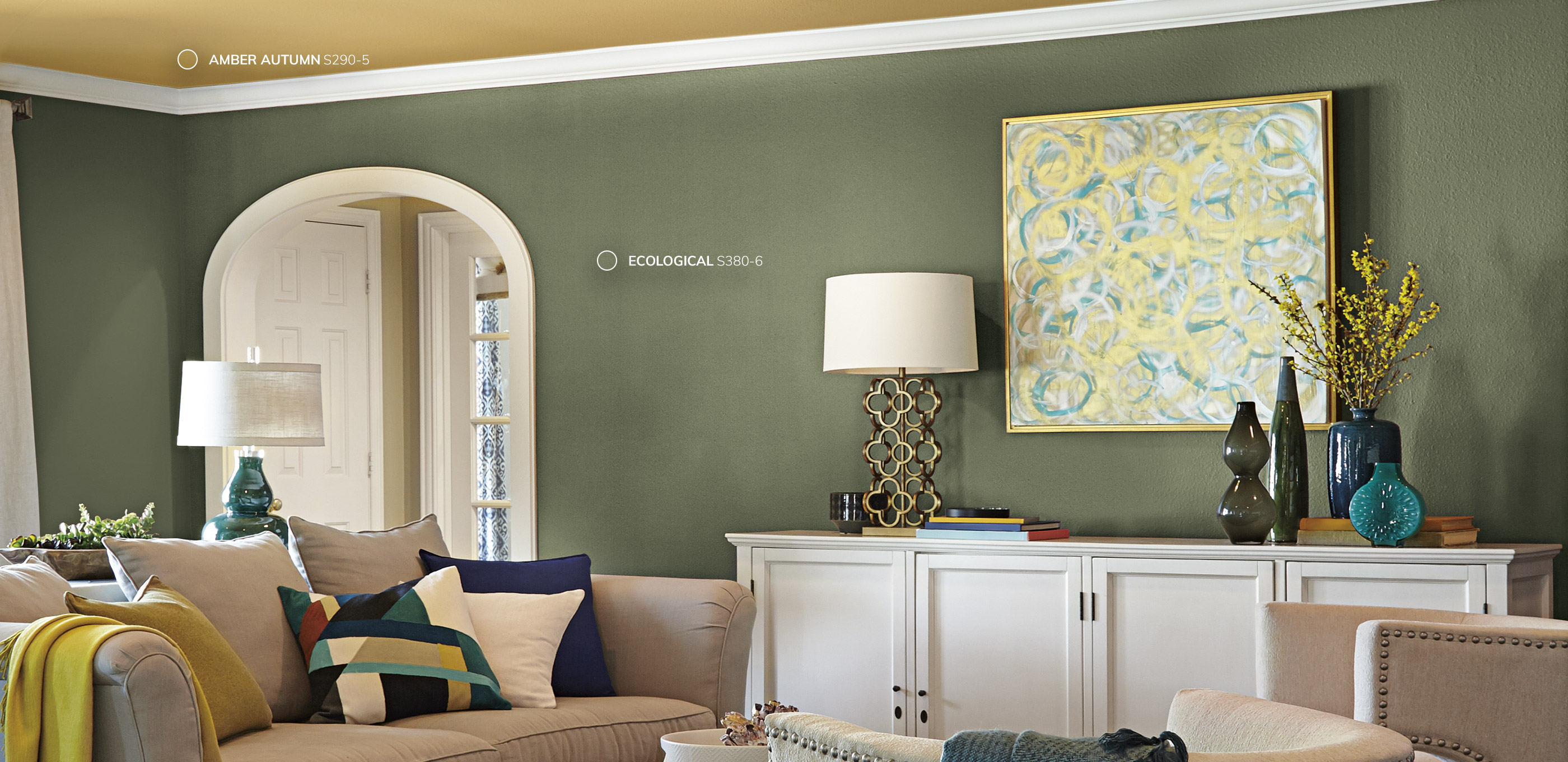 Inspired Curation Color Palette 2019 Color Trends Behr Paint