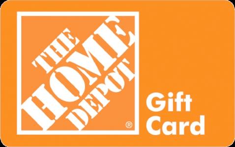 Tarjeta de regalo de Home Depot