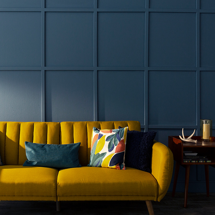 Paneled Wall How-To