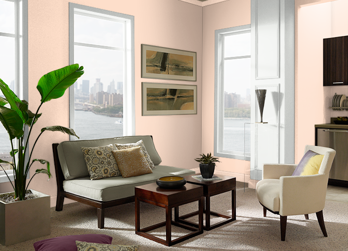 Sugared Peach 250c 2 Behr Paint Colors