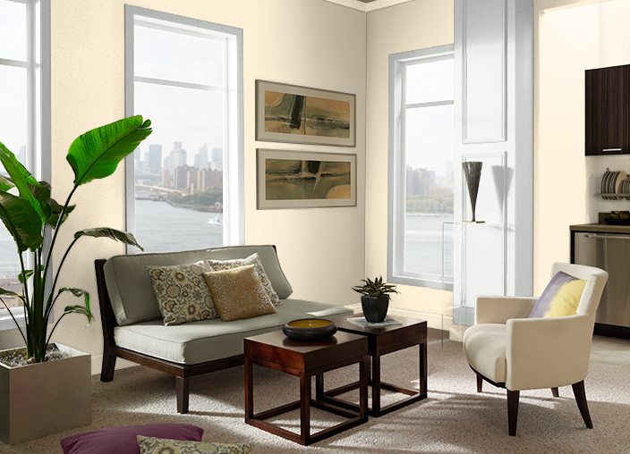 Pearly White M270 1 Behr Paint Colors