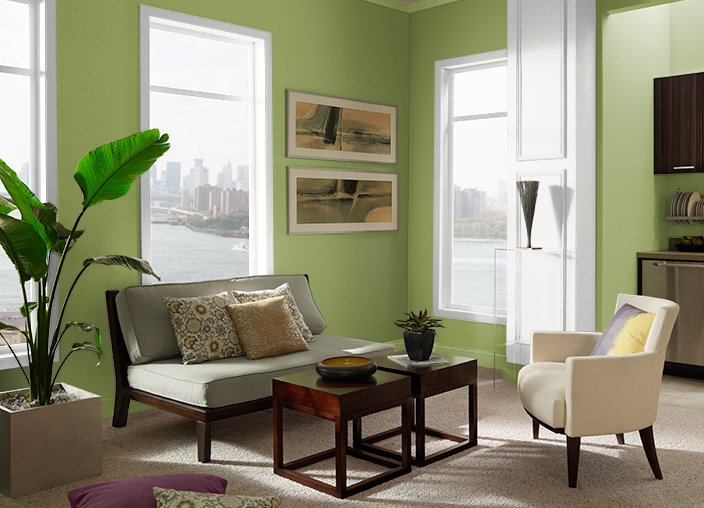 Bold Avocado M360 6 Behr Paint Colors