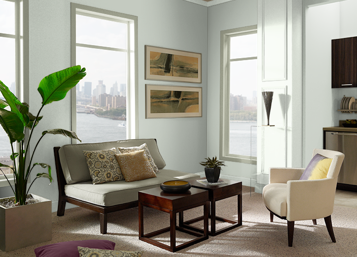coordinated palette for riverdale urban nature behr paint