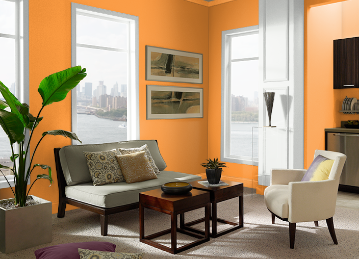 Joyful Orange P240-7 | Behr Paint Colors