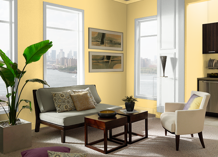 Surfboard Yellow P280-4 | Behr Paint Colors