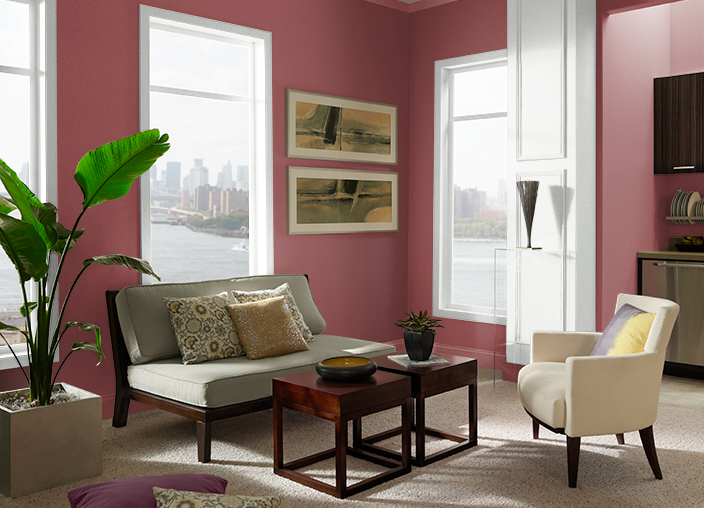 Forbidden Red PPU1-10 | Behr Paint Colors