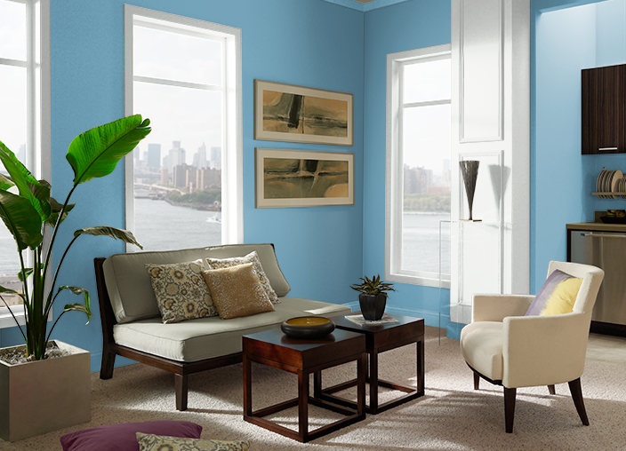 Yacht Blue S490-4 | Behr Paint Colors