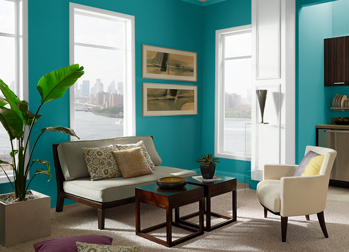 Essential Teal T15 3 Behr Paint Colors