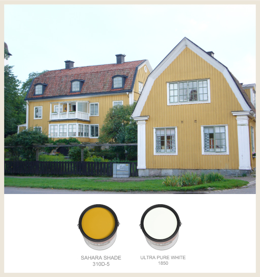 Colorfully BEHR Colors Of Swedish Architecture