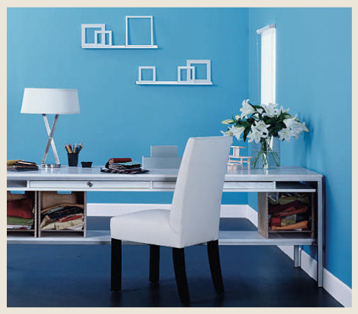 Colorfully, BEHR :: Home Office Color