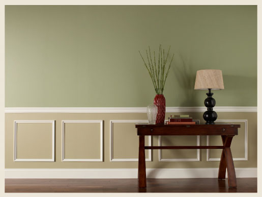 Neutral Green Paint Colors colorfully, behr :: lighting does make a difference