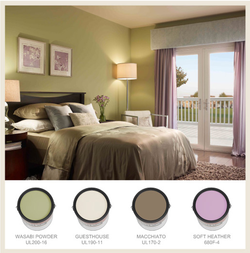 Colorfully, BEHR :: Restful Bedrooms