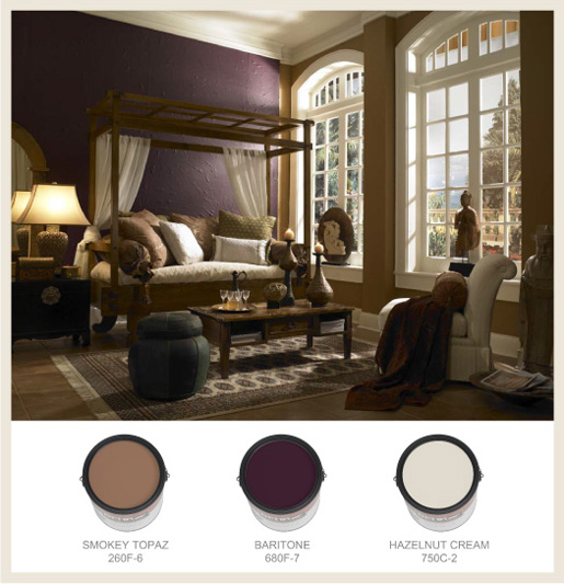 Colorfully, BEHR :: Home Sanctuaries