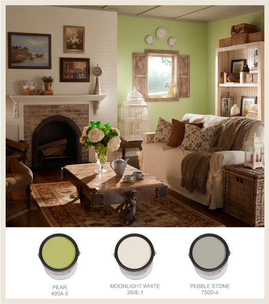 Colorfully behr cottage style decorating - Decoration cottage style ...