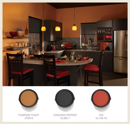 Behr Paint For Kitchen Cabinets: Colorfully, BEHR :: Color Your Kitchen